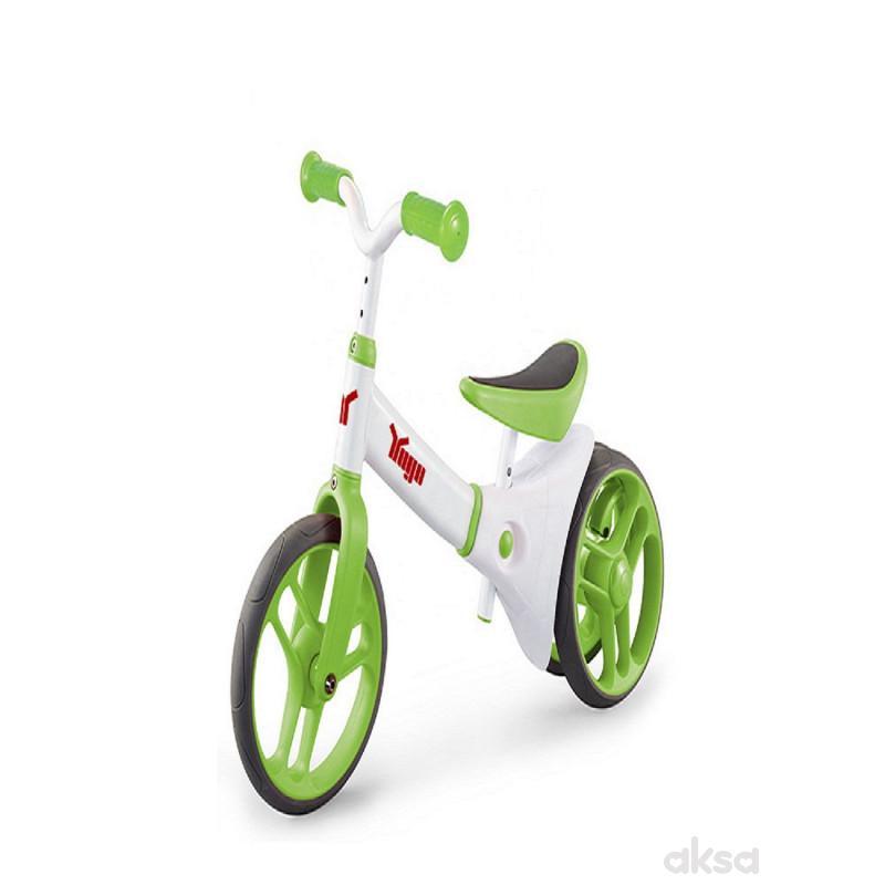 Konig 2 in 1 Training Balance Bike - Green