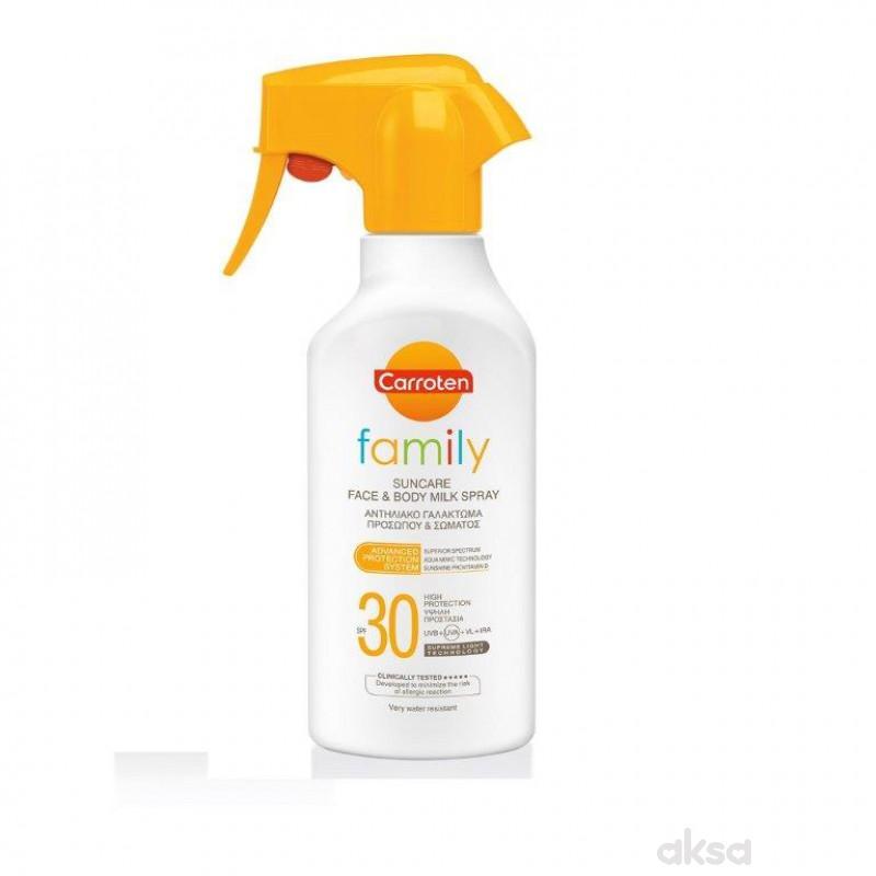Carotten mleko family sprej SPF30 300ml