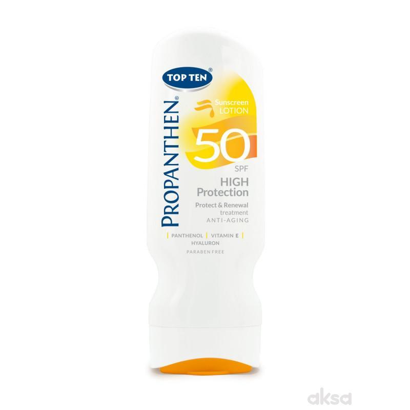 Top ten propanthen sun losion SPF50 200ml