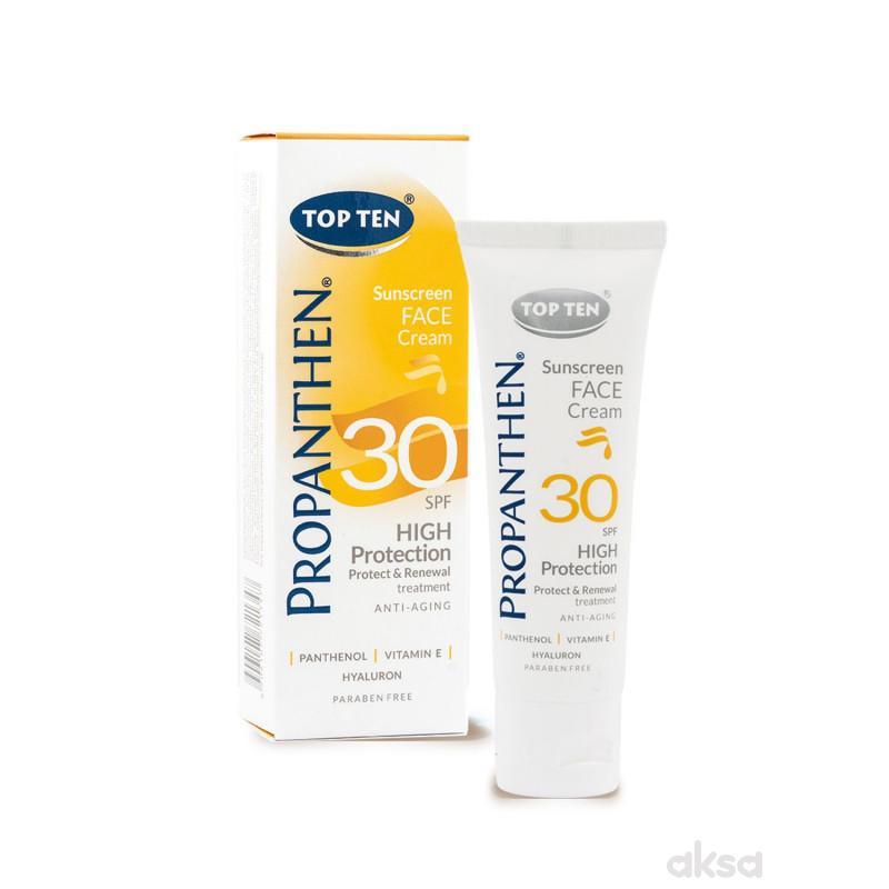Top ten propanthen sun krema za lice SPF30 50ml