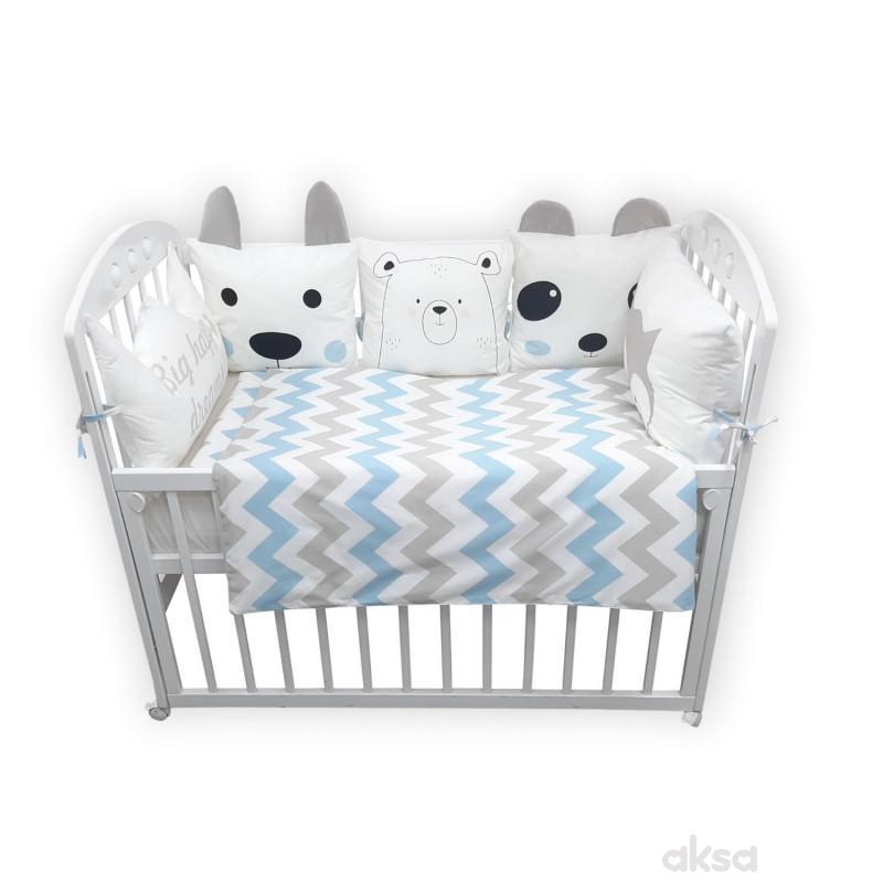 Lillo&Pippo punjena posteljina Meda