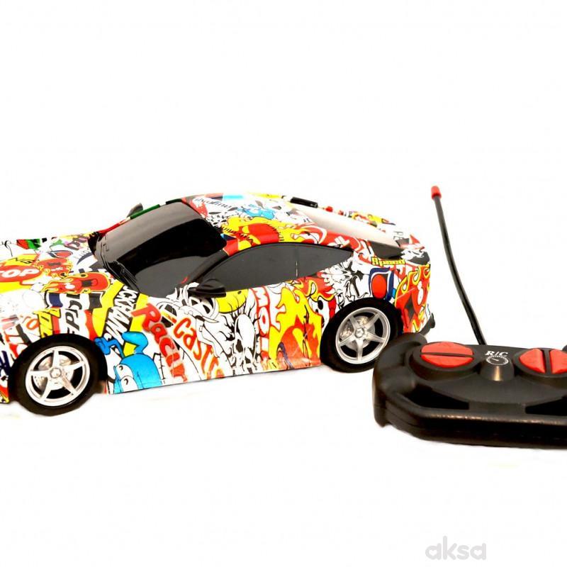 Cigioki auto sa radio kontrolom 26cm