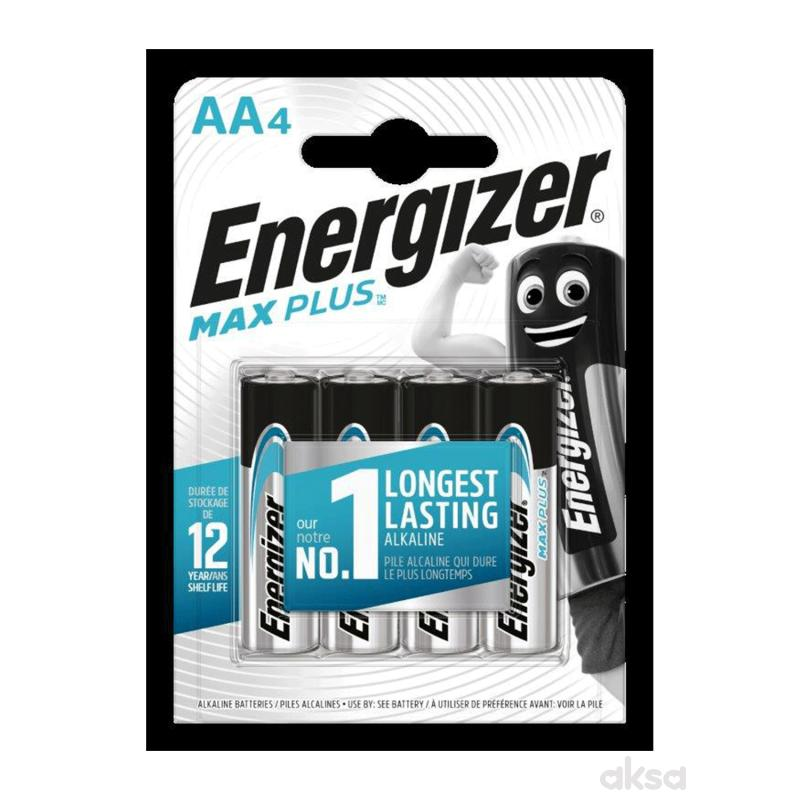 Energizer baterije max plus AA 4 kom AL