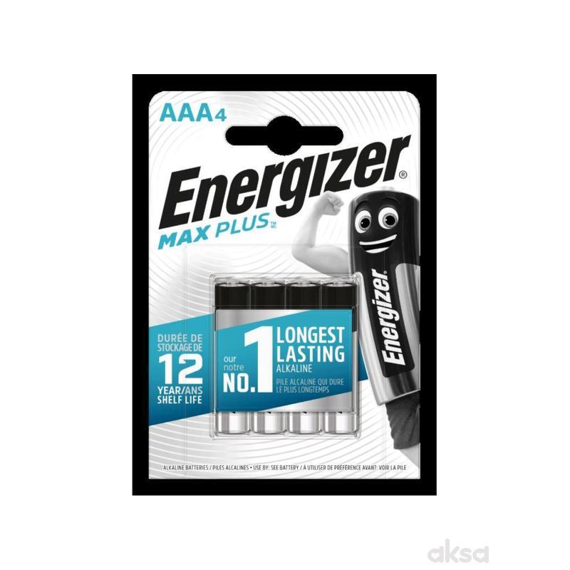 Energizer baterije max plus AAA 4 kom AL