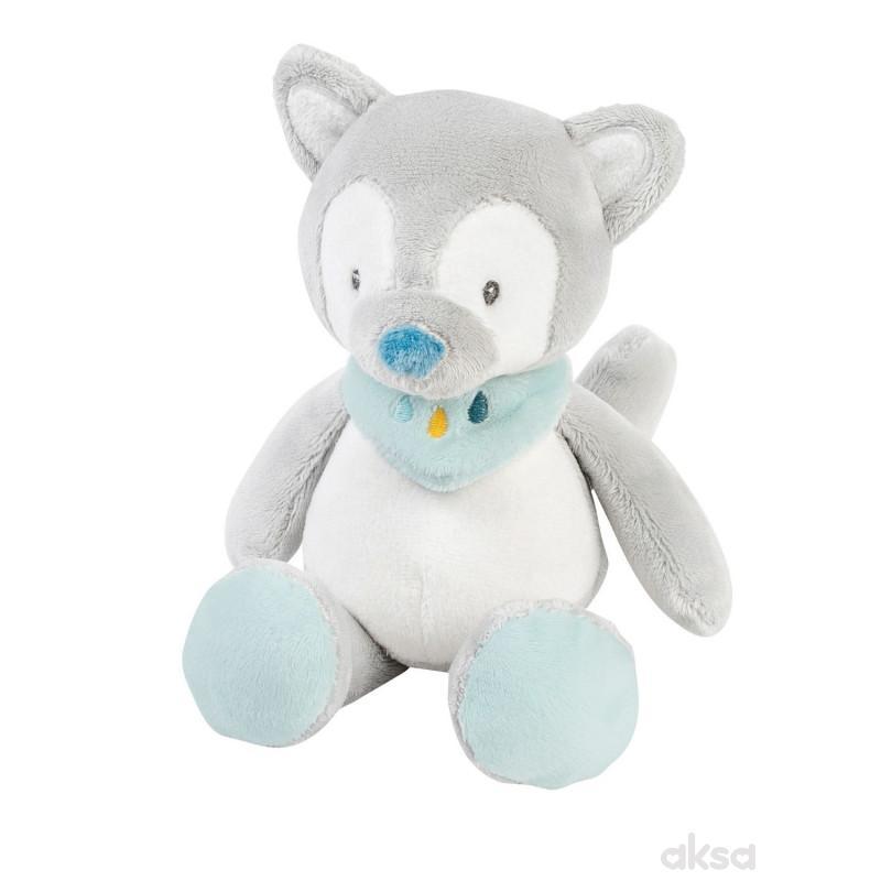 Nattou mini plišana igračka vuk Tilo