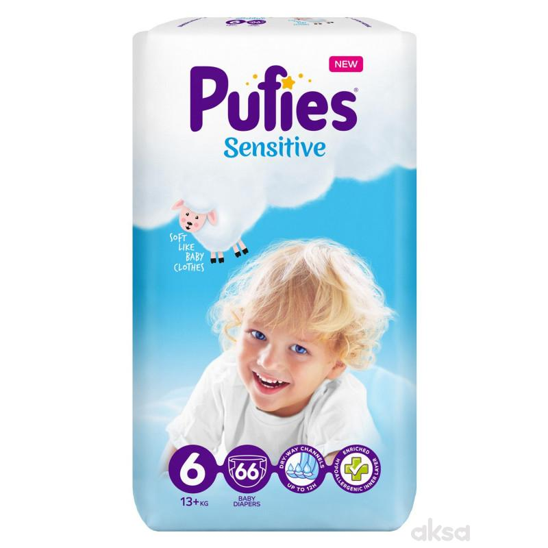 Pufies pelene sensit.BP XL ext.large 13kg 66kom
