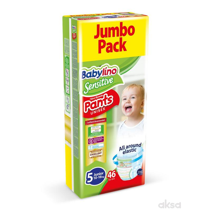 Babylino pants pelene  JP 5 junior 10-16kg  46 kom