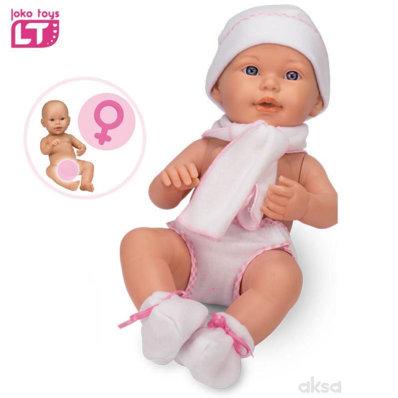 Loko toys, lutka beba devojčica, 42cm
