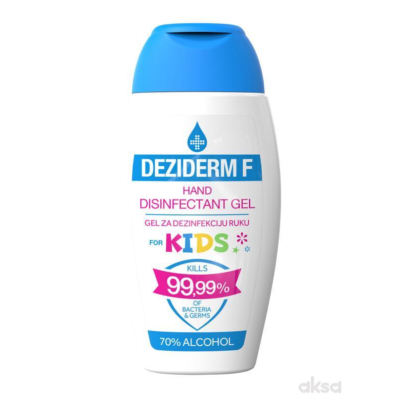 Deziderm F Gel za dezinfekciju ruku za decu 125ml