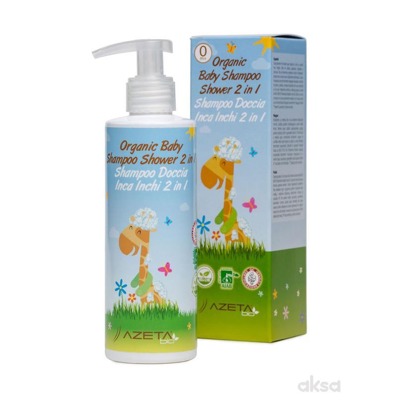 Azeta Bio organski šampon/kupka 500ml
