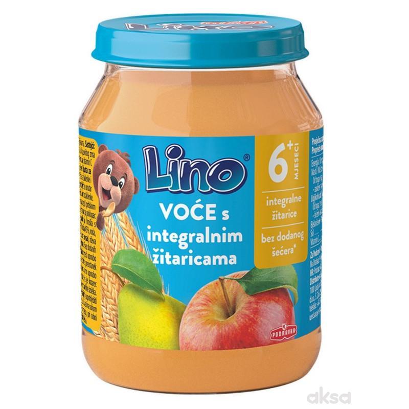 Lino kašica voće s integralnim žitaricama 190g