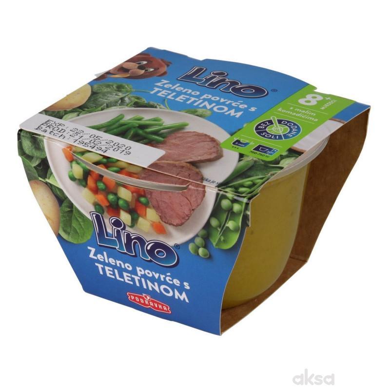 Lino Zeleno povrće s teletinom 190g