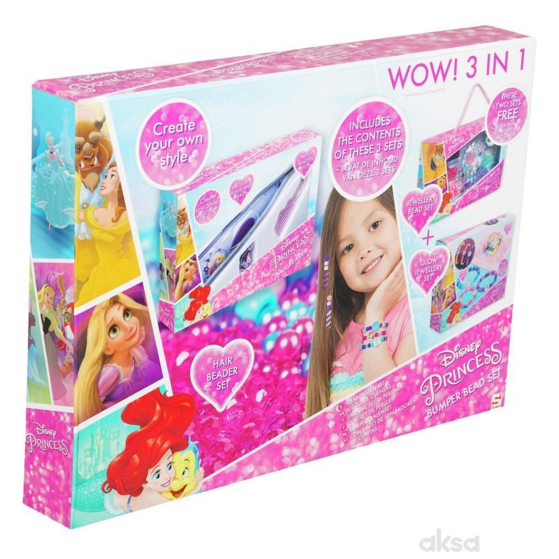 Disney Princess Set nizalica 3u1