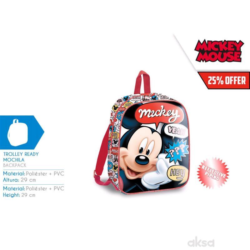 Kids licensing ranac za decu Mickey 29cm