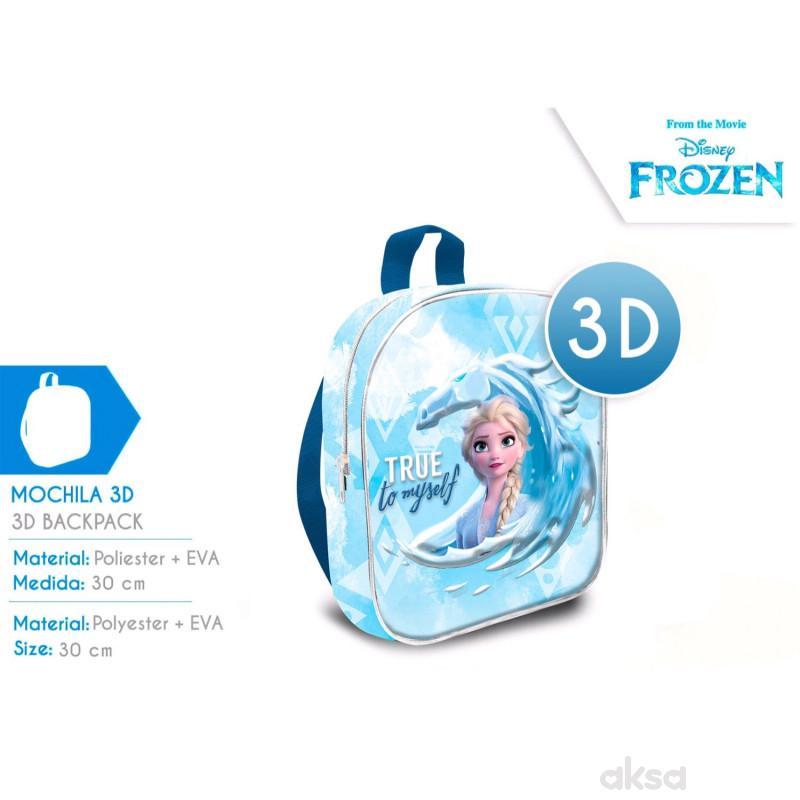 Kids licensing ranac za decu 3D Frozen 2, 30cm