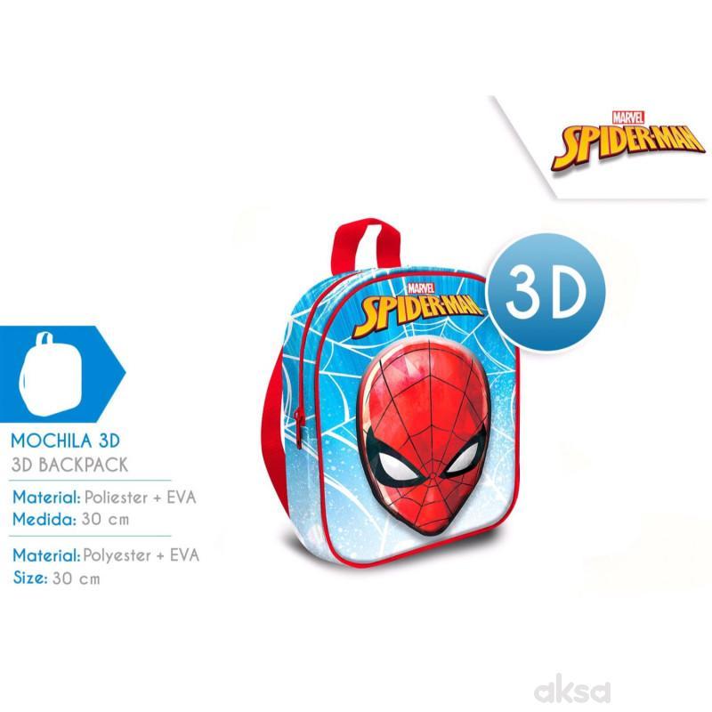 Kids licensing ranac za decu 3D Spiderman, 30cm