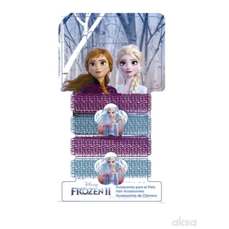 Kids licensing gumice za kosu Elza Frozen 2, 4 kom