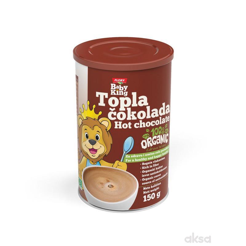 Baby king topla cokolada, organic 150g