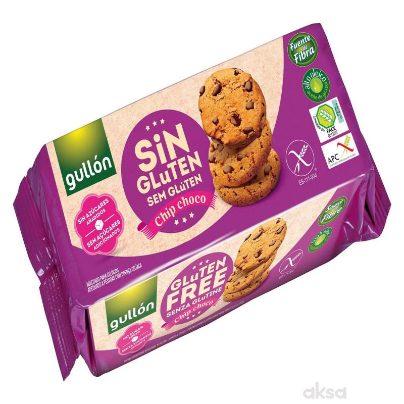 Gullon keks chip choco bez glutena, bez sećer 130g