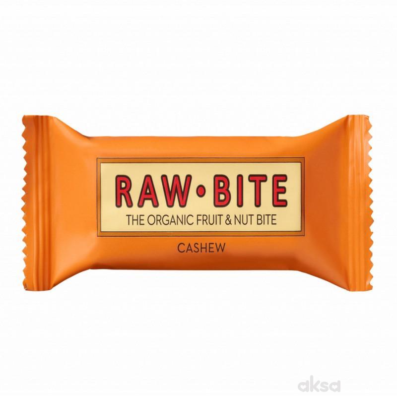 Raw Bite voćni energ. bar organski ind. orah 50g