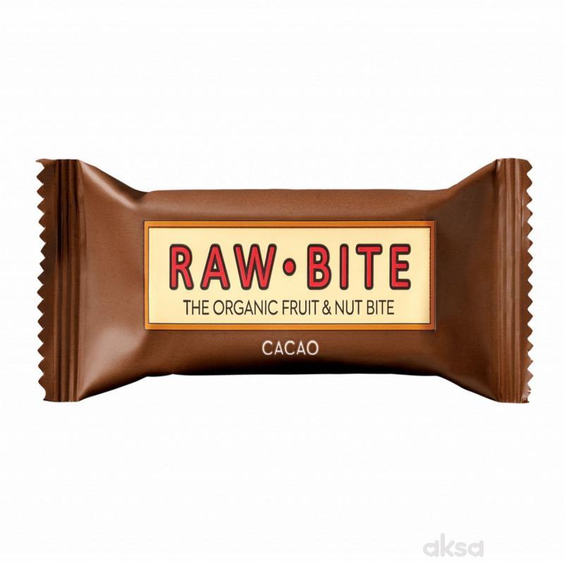 Raw Bite voćni energ. bar organski kakao 50g