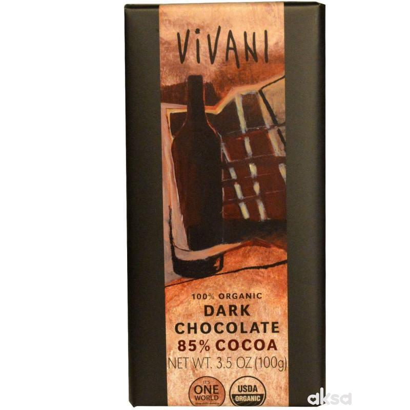 Vivani čokolada 85% 100g