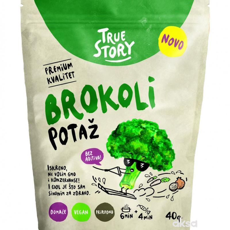 True story potaž brokoli 40 g
