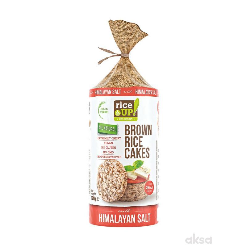 Rice up braon pirinčane galete himal.so 120g