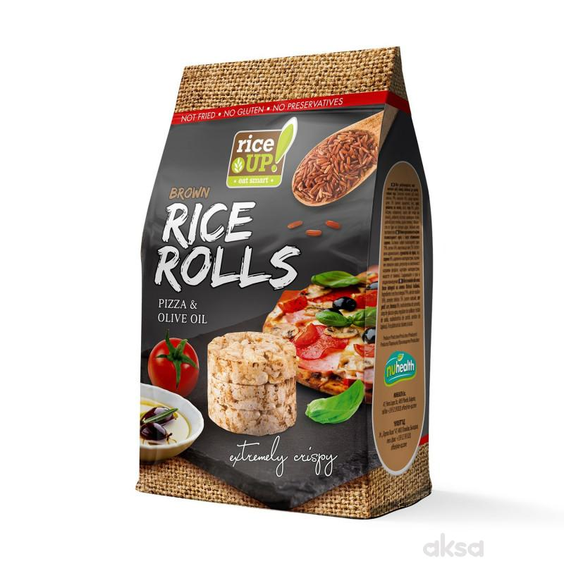 Rice up braon pirin.rolls pizza,mas.ulje 50g
