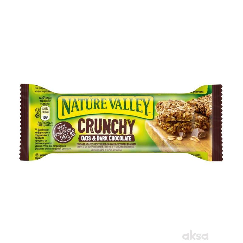Nature Valley crunchy bar crna čokolada 42g