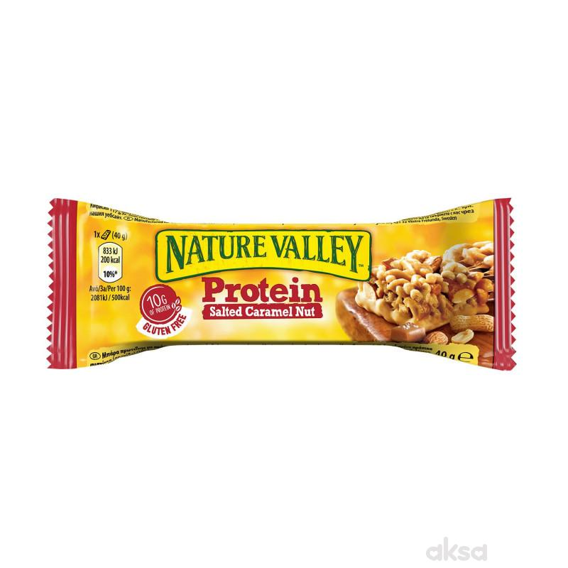 Nature Valley prot.bar, kikir,badem,slan.karam 40g