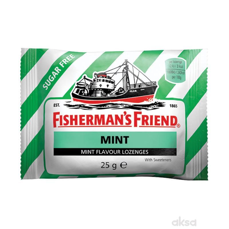 Fishermans pepermint pastile  GF 25g