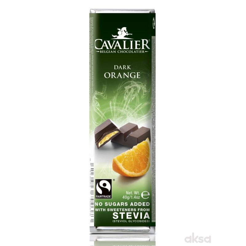 Cavalier tamna čokolada orange,sa stevijom 40g