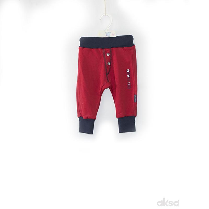 Pom Pom pantalone,dečaci,bez stopica