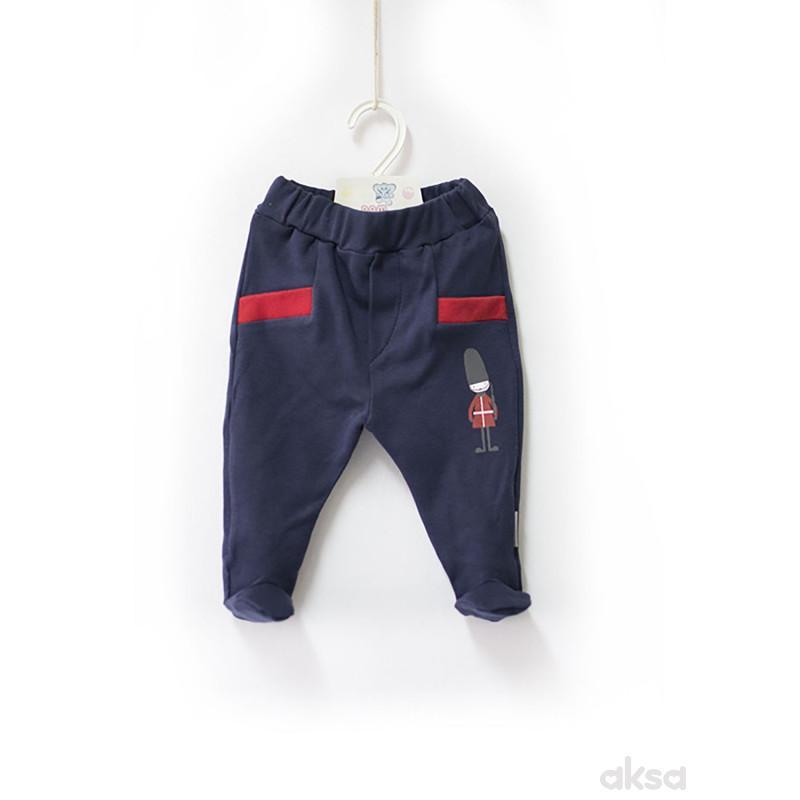 Pom Pom pantalone,dečaci,sa stopicama