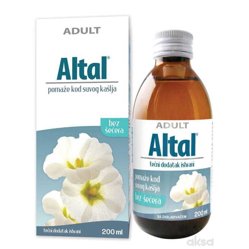 Altal za suvi kašalj, tdi, za odrasle 200ml