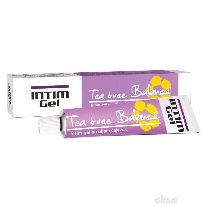 Tea tree Balance, Intim gel sa uljem čajevca, 20ml