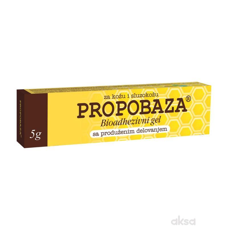 Propobaza bioadhezivni gel, 5g