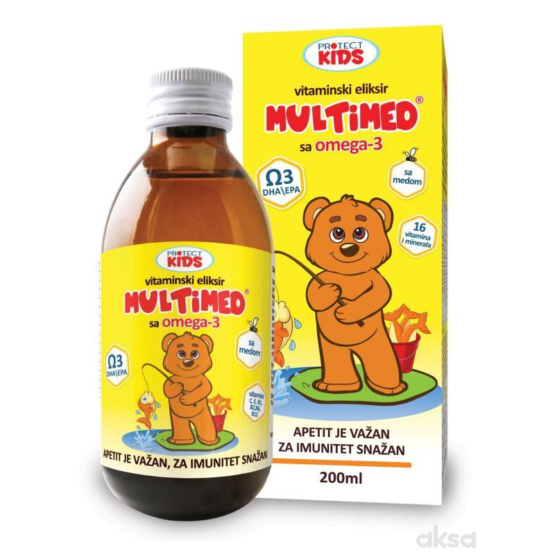 Protect Kids,Multimed Omg 3 Vitamin eliksir,200 ml