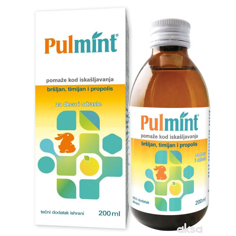 Pulmit eliksir za iskašljavanje 200 ml