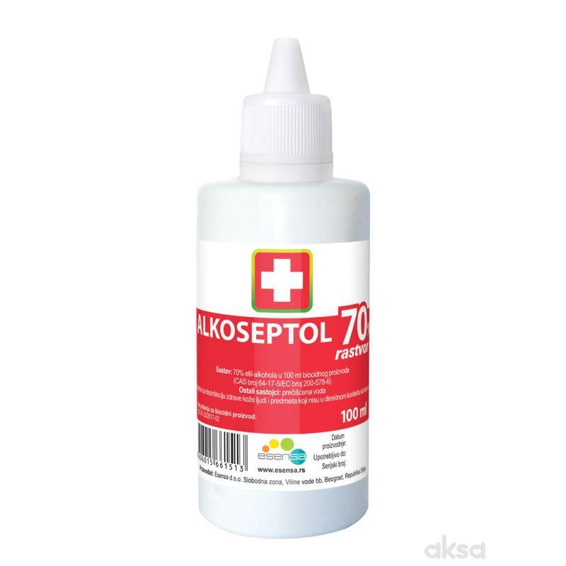 Alkoseptol medicinski alkoholni rastvor, 100 ml