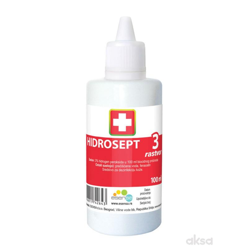 Hidrosept rastvor hidrogen peroksida, 100 ml