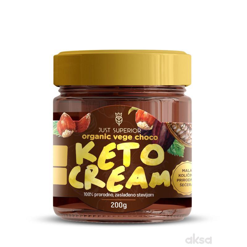 Superior keto vege choco krem sa stevijom 250g