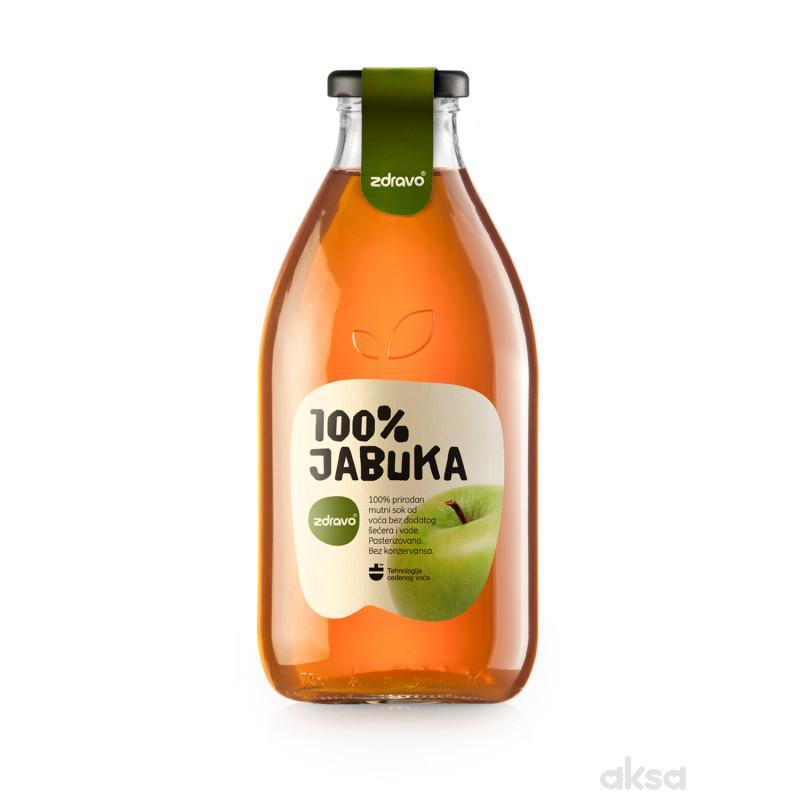 Zdravo Organic sok od jabuke 750ml