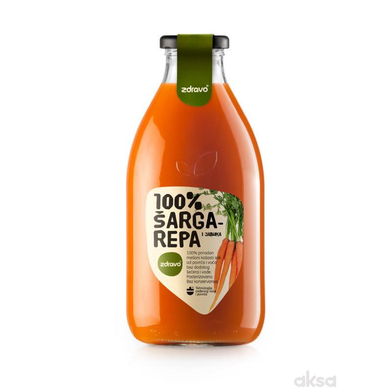 Zdravo Organic sok od šargarepe 750ml