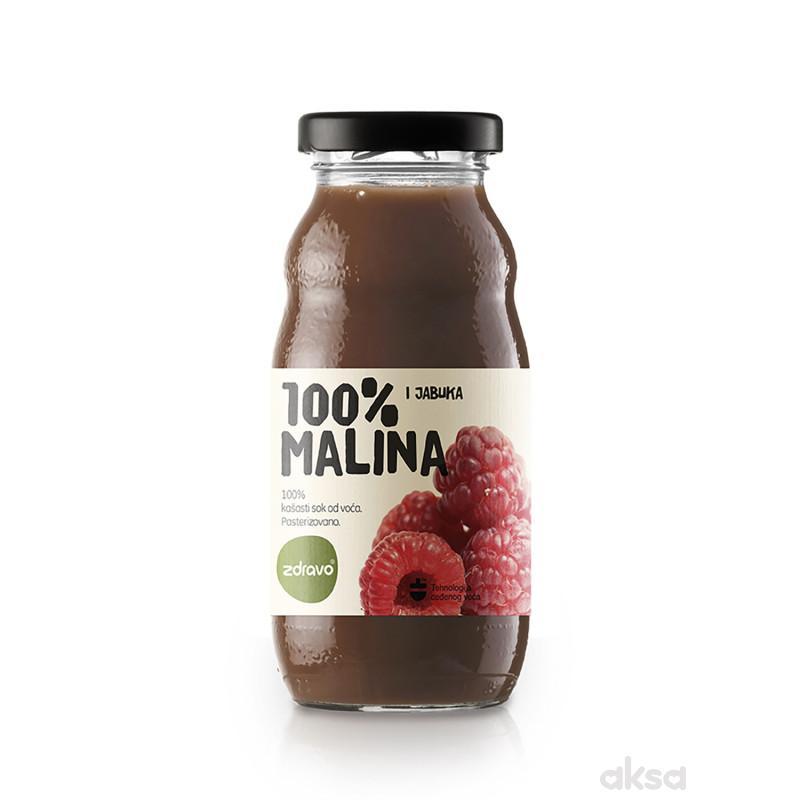 Zdravo Organic sok malina 200ml