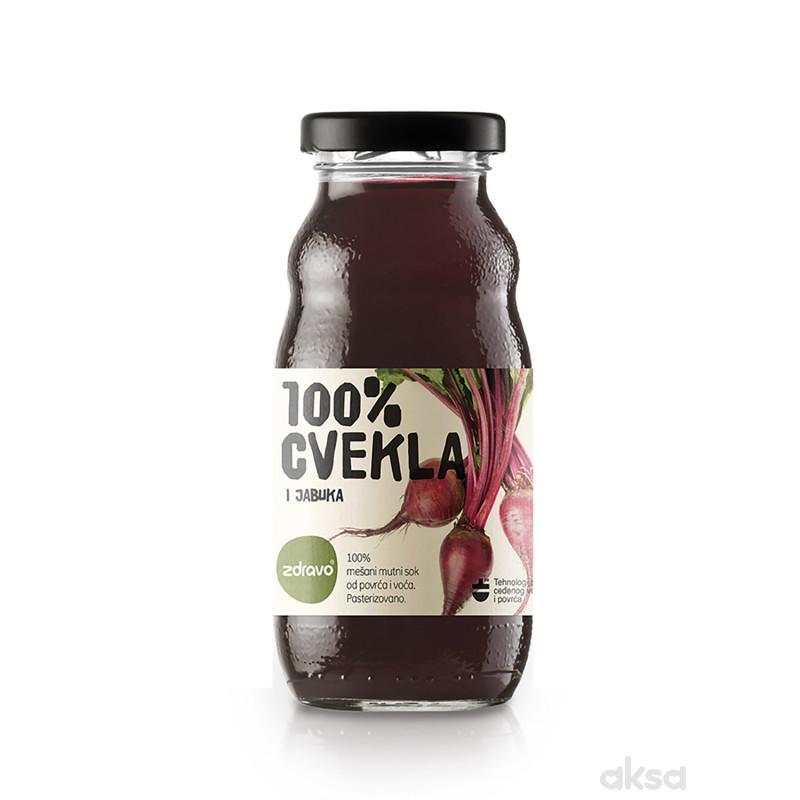 Zdravo Organic sok cvekla 200ml