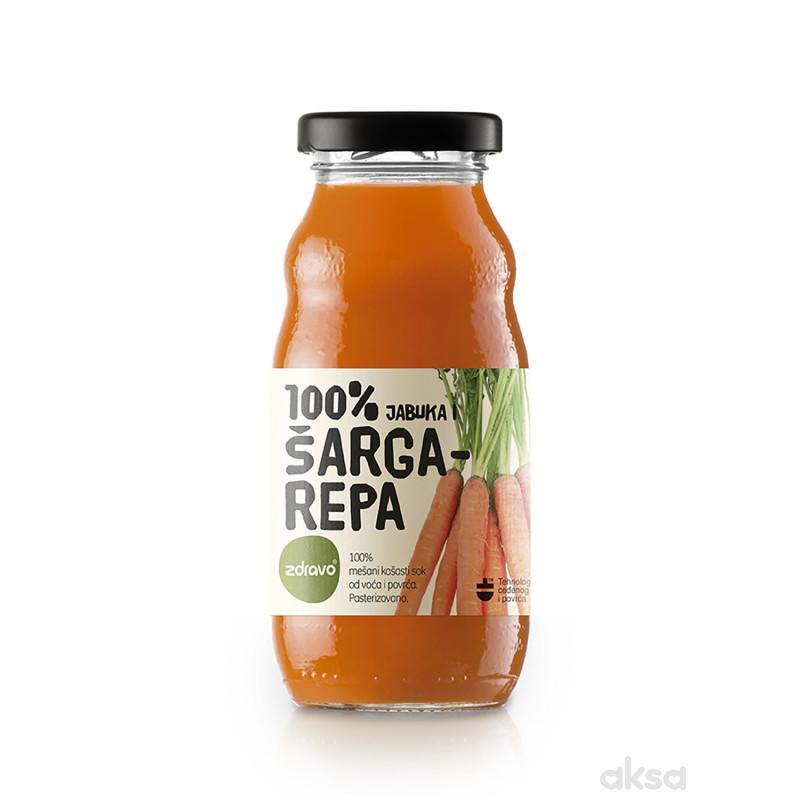Zdravo Organic sok šargarepa 200ml
