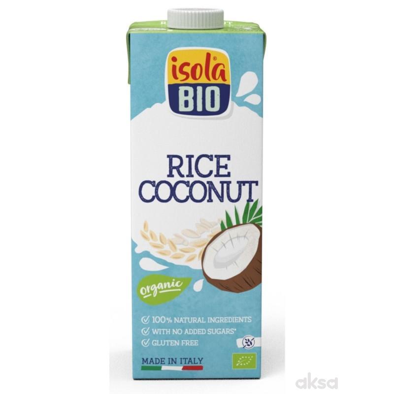 Isola Bio napitak od pirinča sa kokosom GF 1l