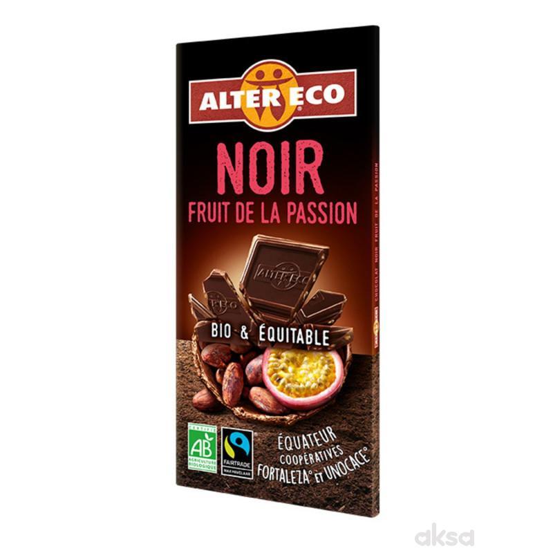 Alter Eco crna čokolada sa marakujom 100g